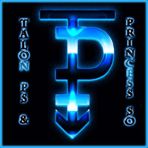 TalonPrin logo flashy logo